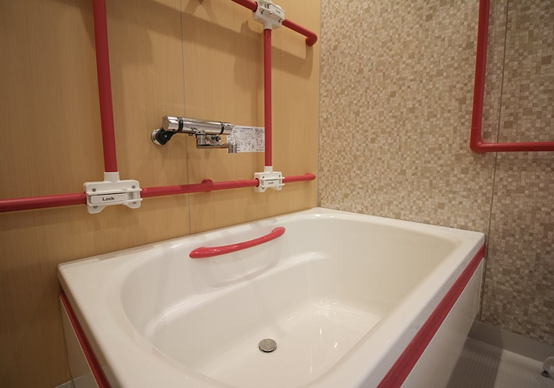 浴槽車いす用スロープ